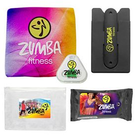 Promotional Gym Necessities Earbud Towel Kit