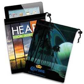 Promotional Ipad Mini Tablet Microfiber Cloth Pouch