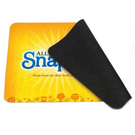 Promotional 4-In-1 Rectangle Microfiber Mousepad Cleaning Cloth