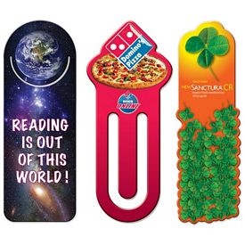 Promotional Custom High Gloss Laminated Bookmarks
