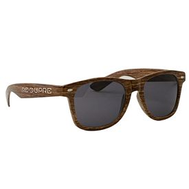 Promotional Wood Grain Miami Sunglasses