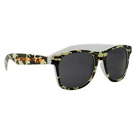 Customized Camouflage Miami Style Sunglasses