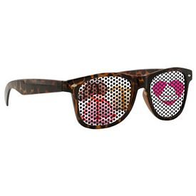 Promotional Custom Lenstek Tortoise Miami Sunglasses