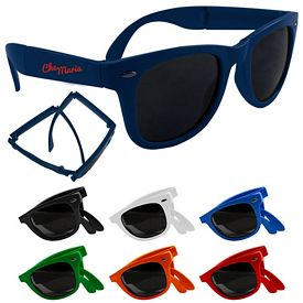 Custom Folding Miami Style Sunglasses