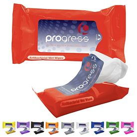 Customized Antibacterial Wet Wipes In Pouch