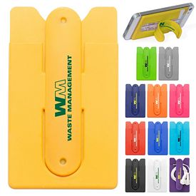 Promotional Silicone Stand Smart Wallet