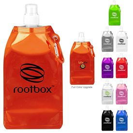 Promotional 169 Oz Metro Collapsible Water Bottle