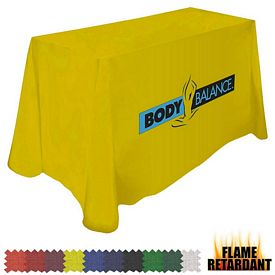 Customized Digital Flame Retardant 8 Ft Throw Style 42-inchH Tablecloth