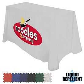 Promotional Digital Liquid Repellent 8 Ft Throw Style 42-inchH Tablecloth