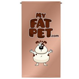 Promotional 2x4 Ft Hang it Anywhere Vertical Banner Set