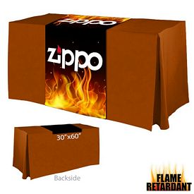 Promotional Digital Printed 30-inch x 60-inch Flame Retardant Table Runner
