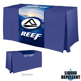 Customized Digital Printed 30-inch x 60-inch Liquid Repellent Table Runner