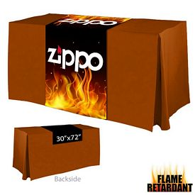 Promotional Digital Printed 30-inch x 72-inch Flame Retardant Table Runner
