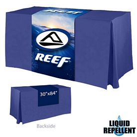 Customized Digital Printed 30-inch x 84-inch Liquid Repellent Table Runner