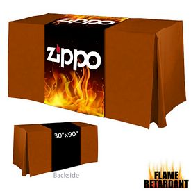 Promotional Digital Printed 30-inch x 90-inch Flame Retardant Table Runner