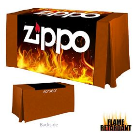 Customized Digital Printed 60-inch x 60-inch Flame Retardant Table Runner