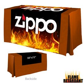 Promotional Digital Printed 60-inch x 72-inch Flame Retardant Table Runner