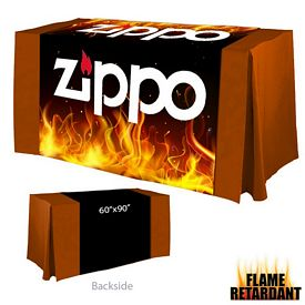 Promotional Digital Printed 60-inch x 90-inch Flame Retardant Table Runner