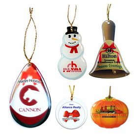 Promotional Zoogee Shatterproof Ornament