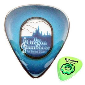 Promotional Zoogee Single Dome Guitar Pick